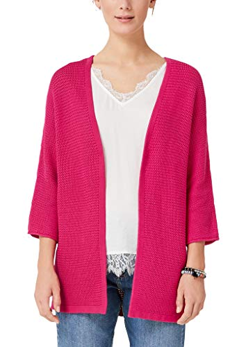 s.Oliver Damen 14.908.64.2335 Strickjacke, Rosa (Pink 4436), Medium (Herstellergröße: M)