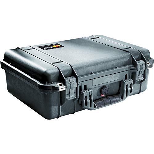 Pelican 1500 Case With Foam Black