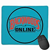 Mouse Mat with Designs Backwoods Mousepad Gaming Mouse Pad Natural Rubber 25X30 cm