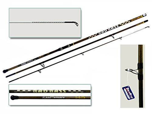 BAD BASS Canna Anniversary 3PZ 80-145g 4.60mt SURFCASTING Anelli PACBAY