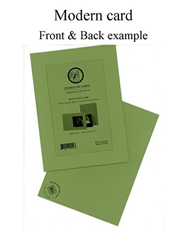 Coffee Collection 4x6 Photo Insert Note Cards - 24 Pack by Plymouth Cards (Made from Recycled Coffee Bean Bags) Photo #2