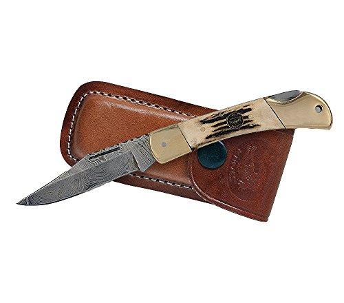 Croco Knives Klappmesser Damascus 16 Klingenlänge 9 cm, 20 cm, 336811