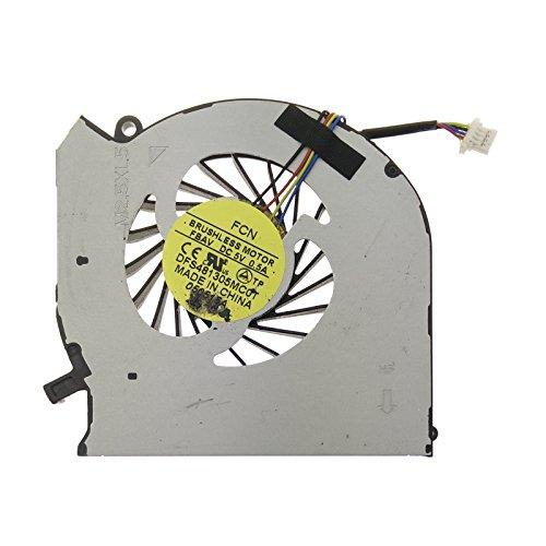 Ventilador HP - 682061-001 compatible con HP-Compaq Pavilion DV6-7000 | DV6-7002AX | DV6-7007TX | DV6-7011TX | DV6-7020TX | DV6-7032TX | DV6-7043CL | DV6-7052SR | DV6-7053EA | DV6-7070EE | DV6-7070SW | DV6-7080EE