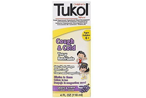 TUKOL Children's Cough & Cold, 4 fl oz