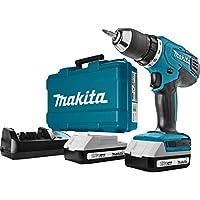 Makita HP457DWE - Taladro Percutor A Bateria 18V Litio-Ion 1.3 Ah
