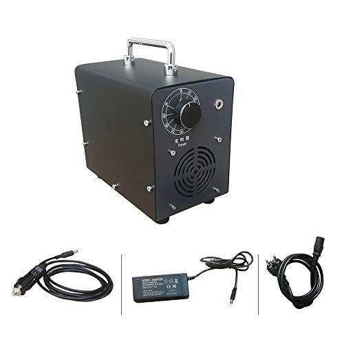 Lumemery Generador de ozono para Coche de 12 V Máquina de ozonizador para el hogar Purificador Aire Desodorizador Eliminador olores para Habitaciones Cocina
