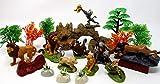 Lion King Play Set Featuring Random Lion King Figures and Accessories, May Include Simba, Scar, Mufasa, Nala, Rafiki, Timon, Pumbaa Figures