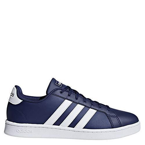 adidas Herren Grand Court Tennisschuhe, Blau (Azuosc/Ftwbla/Ftwbla 000), 44 EU