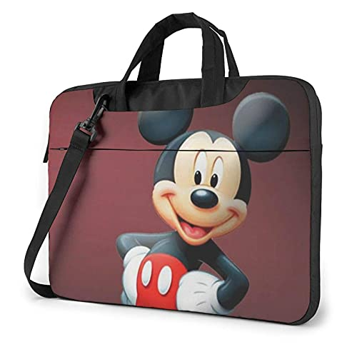 XCNGG M-Ickey Mouse Laptop Bag Tablet Maletín portátil Funda protectora Funda Messenger Bags 14 pulgadas