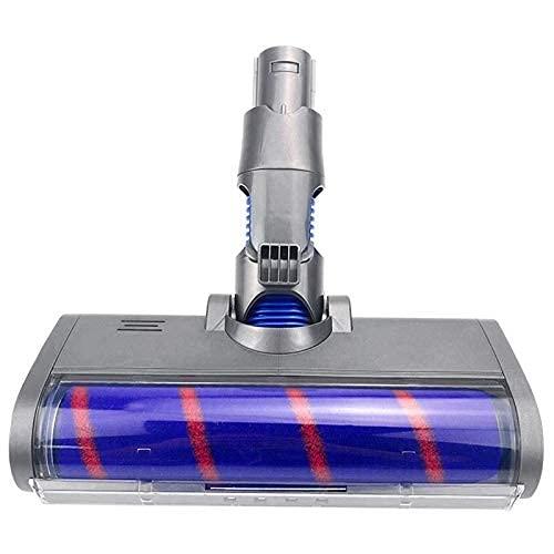 De Galen Piezas de repuesto para aspiradora Dysons V6 A/B, herramienta de cepillo giratorio con luces LED para cepillo Dyson accesorios de vacío