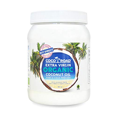 Coco Road Organic & Fair Trade Virgin Coconut Oil 1.6L