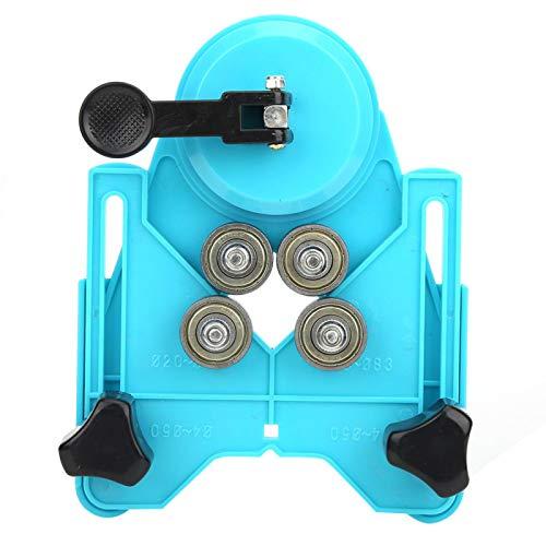 Localizador de perforaciones, Localizador de perforaciones de vidrio Preciso Práctico Duradero Alta calidad para perforaciones precisas en baldosas de cerámica Vidrio Mármol