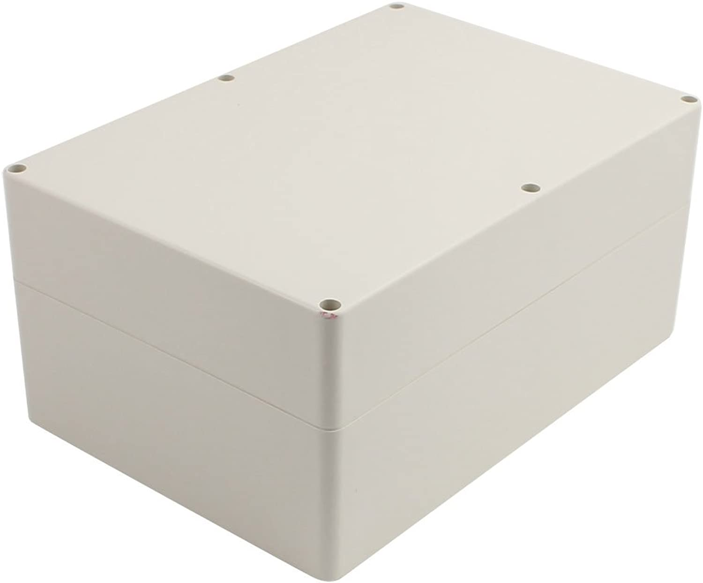 Sourcing map Anschlussstelle elektronische Projektbox Abdeckung grau 263x182x125mm de de de B072147C6B   Verschiedene  fb6dec