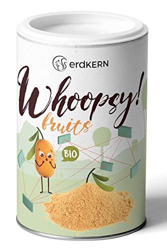 Whoopsy! Fruits - 50g Bio-Sanddorn Pulver - Smoothie Booster - 100 % Sanddorn, getrocknet und gemahlen in praktischer Dose