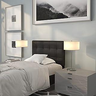 Flash Furniture Lennox Tufted Upholstered Twin Size Headboard in Black Vinyl (B079C8SB7P)   Amazon price tracker / tracking, Amazon price history charts, Amazon price watches, Amazon price drop alerts