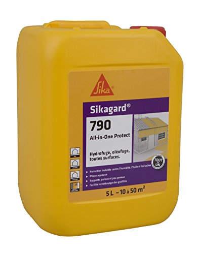 petit un compact Sikagard 790 tout-en-un, protection étanche polyvalente pour façades intérieures et extérieures,…