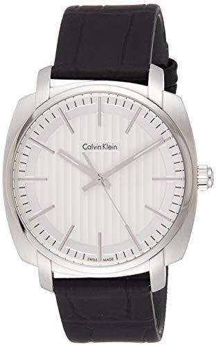 Calvin Klein Reloj Analógico para Hombre de Cuarzo con Correa en Cuero K5M311C6