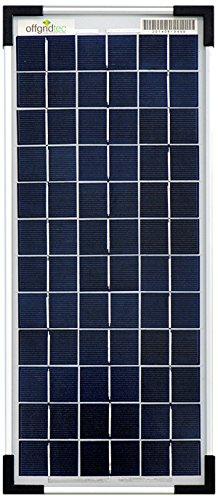 Offgridtec Poly panneau solaire 12V 10W