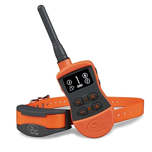 SportDOG Brand SportTrainer Remote Trainers - Bright, Easy to Read OLED Screen - Waterproof, Rechargeable Dog Training Collar with Tone, Vibration, and Static, 3/4 Mile Range - 6 Dog Expandable