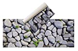 Alfombra Vinílica - (Piedras, 200x80 ) - Distintos diseños y tamaños - Opción Personalizable - Alfombra Cocina, baño, salón Comedor - Antideslizante - Alfombra Dormitorio - Goma esponjosa y Suelo PVC