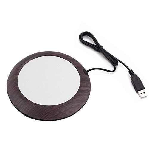panthem Calentador de tazas de café USB para té, leche, oficina o uso doméstico, mantiene la temperatura del agua a 55 °