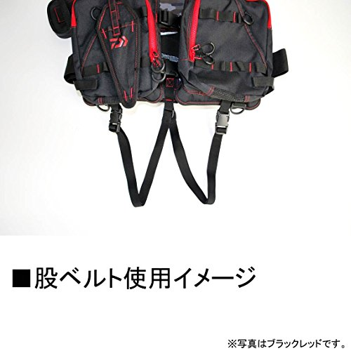 ダイワ(DAIWA)フィッシングベストフロートゲームベストグレーライムフリーDF-6206