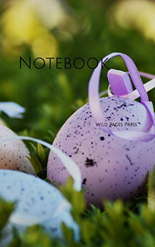 Notebook: Easter egg color holiday spring nature