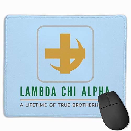 sfdgd Lambda Chi Alpha Gaming-Mauspad, Ultra dick, seidig glatt, 9,8 x 11,8 Zoll
