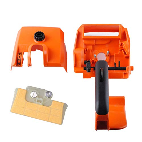 Wadoy MS290 STIHL Chainsaw Parts, Handle Cover for Stihl 029 034 036 039 MS290 MS310 MS390 New #1127 790 1001 - Rear Handle with Air Filter Cover Assembly