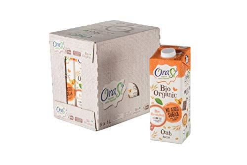 Orasì Bevanda Biologica di Avena, Originale, 1 litro, 6 Unità