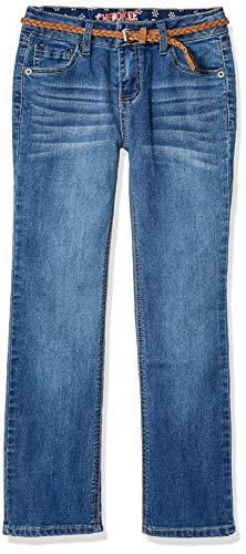CHEROKEE Girls' Big Basic Core Skinny Long Denim Jeans, Medium Wash, 10