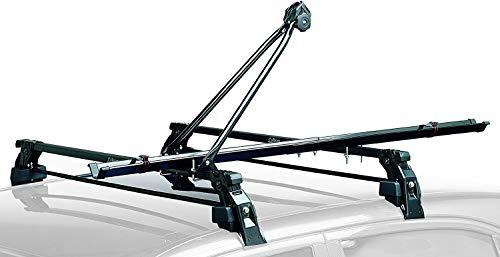 Generico RVS Peruzzo Lucky Two Cruiser - Portabicicletas para techo de coche,...