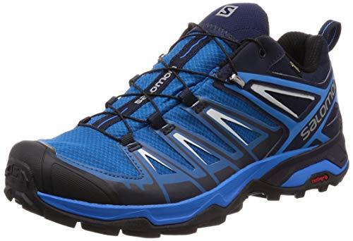Salomon X Ultra 3 GTX, Zapatillas de Cross Hombre, Azul (Mykonos Blue-Indigo Hunting-PE 000), 42 EU
