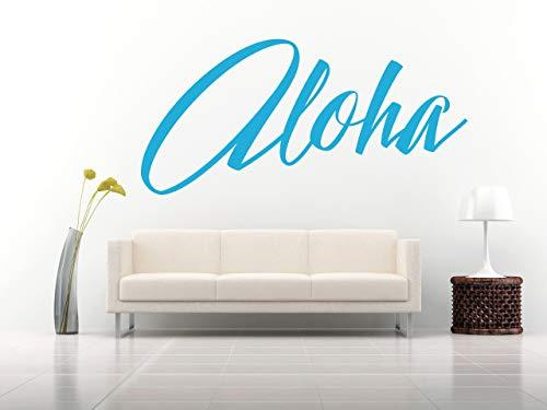 Aloha Citazione, adesivo murale arte in vinile, murale, decalcomania. Casa, muro, decor. Ispiratore, motivazionale, soggiorno, camera da letto, studio, specchio, finestra, auto