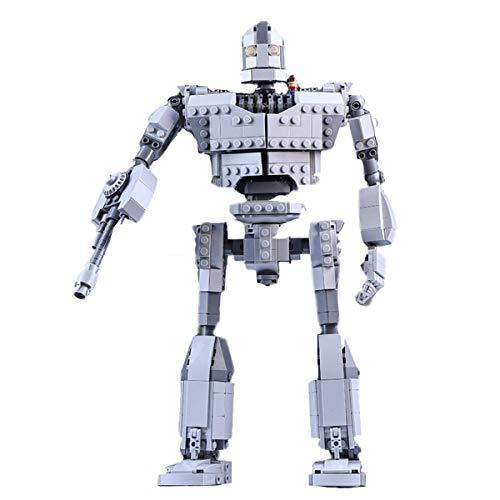 HARTI Juego de bloques de construcción juguetes para niños, 823 piezas nuevo MOC Creator Iron Robot Giant Model Building Kits de figuras de acción de película Voltron Set regalo para niños