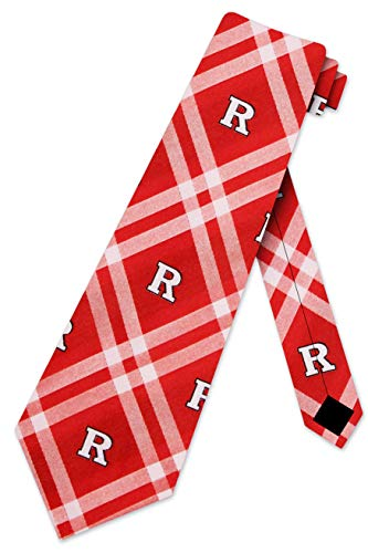 Rutgers Scarlet Knights Rhodes Neck Tie Eagles Wings