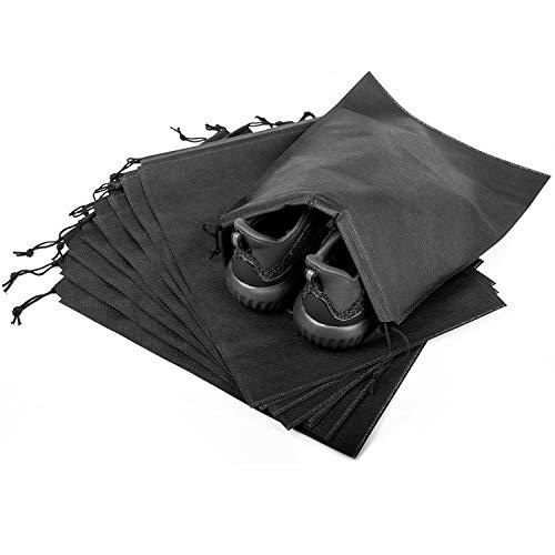 8pcs Travel Shoe Bags -Shoe Bag Portable Waterproof Travel Shoe Organizer Bags Drawstring Dust-proof Organiser Storage Bag Case for Shoes,Boots