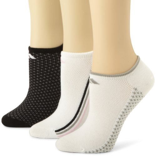adidas Women' s Superlite CC No Show Sock, Scarpe da Dimensioni 5–10, Donna, Assorted/White/Aluminium/Black/Pink