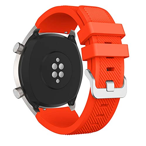 OLBLYING 2021 Nueva Banda de Reloj de Silicona de 22 mm para Huawei para Honor Magic Watch 2 Sport Reemplazo de Relojes de Relojes para Huami Ambashit Stratos 3 Correa