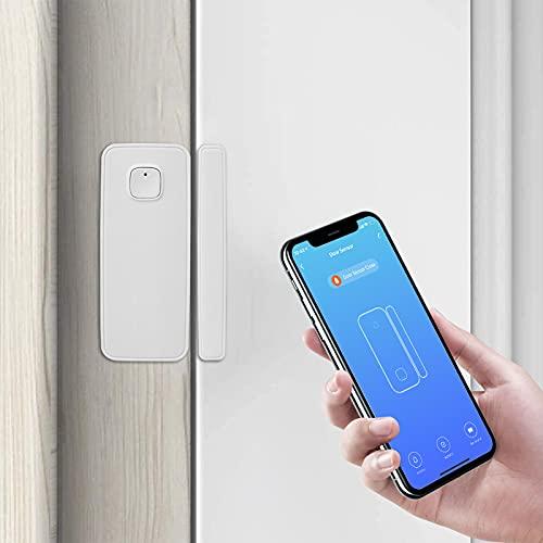 AGSHOME Mailbox Sensor,Door Sensor,Smart Home Wireless Window Door Sensor Compatible with Alexa and Google Assistant,Sends Alerts, Wireless Remote Alarm