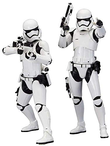 Kotobukiya Star Wars: Episode VII: The Force Awakens: First Order Stormtrooper ArtFX+ Statue (2 Pack) image
