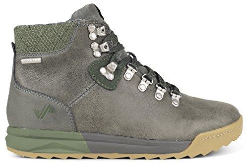 Forsake Patch - Women's Waterproof Premium Leather Hiking Boot (10.5, Grey/Cypress)