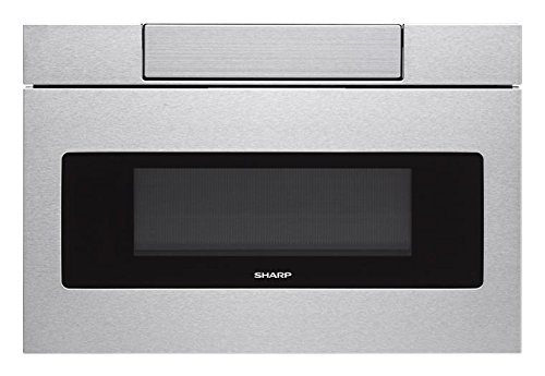 """SMD3070ASY 30"""" Microwave Drawer with 1.2 cu. ft. Capacity 1000 Cooking Watts Digital LCD Display Interior Oven Light in Stainless Steel"""