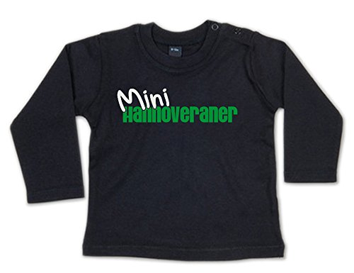 G-graphics Mini Hannoveraner Baby Sweatshirt 268.0080 (6-12 Monate, schwarz)
