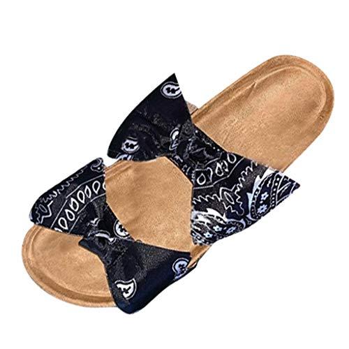 Clogs Hausschuhe Badeschuhe Zehentrenner Pantoletten Sandalen Trekking Sandalen Bade Sandalen Flops Offroad Sneaker Erholungsschuhe Pantoffeln (36,Schwarz)