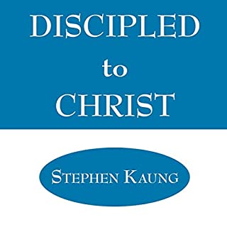 Discipled to Christ cover art