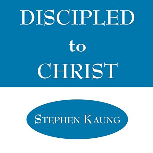 Discipled to Christ audiobook cover art