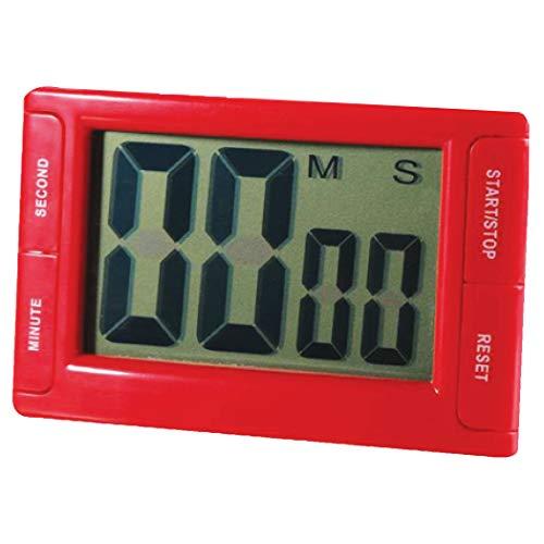 Ashley Analog Timer Big Red Digital Timer, 1/EA (10207), 3.75