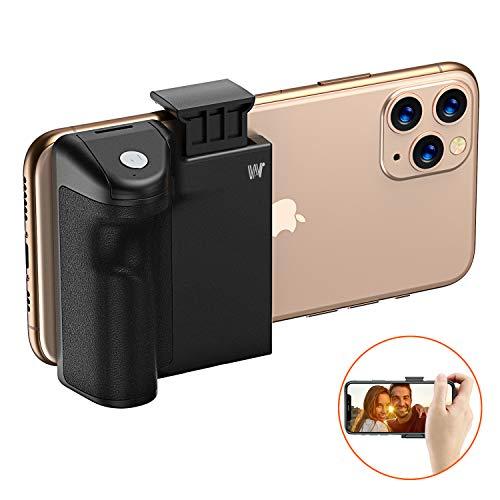 Impugnatura Porta Cellulare, Cocoda Stabilizzatore Smartphone per Selfie, Bastone Selfie, Funzionale Treppiede Smartphone con Bluetooth Telecomando Staccabile & 1/4-inch Interfaccia per iPhone Samsung