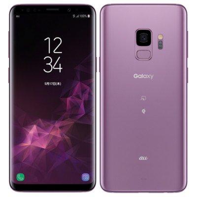 SAMSUNG 【SIMロック解除済】au Galaxy S9 SCV38 Lilac Purple
